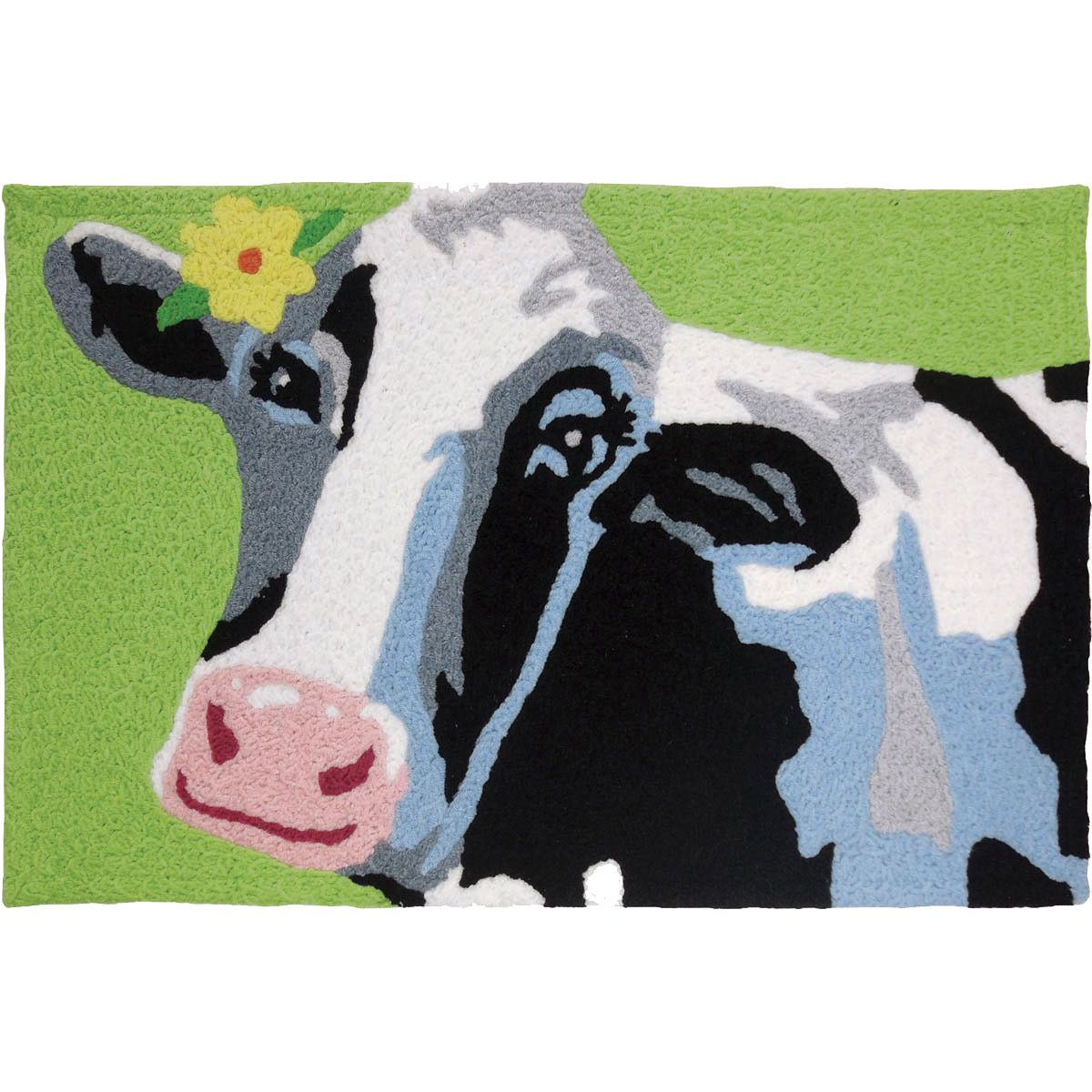 Curious Cow Accent Rug