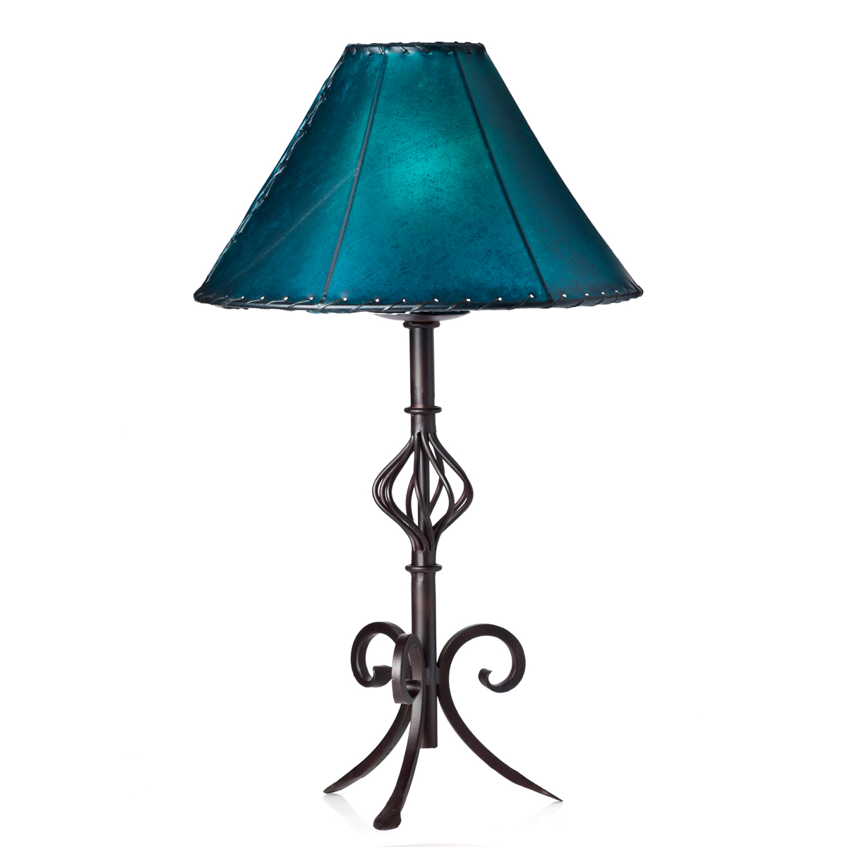 Curved Iron Table Lamp