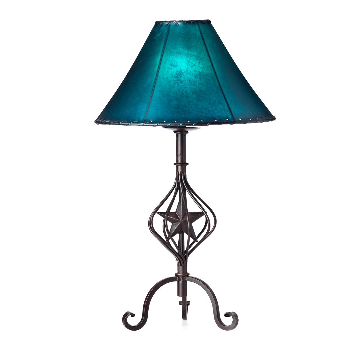 Curved Lone Star Table Lamp