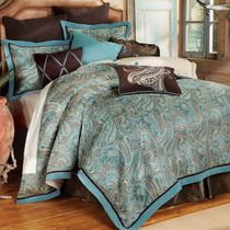 Cypress Falls Bed Set - Queen - OVERSTOCK