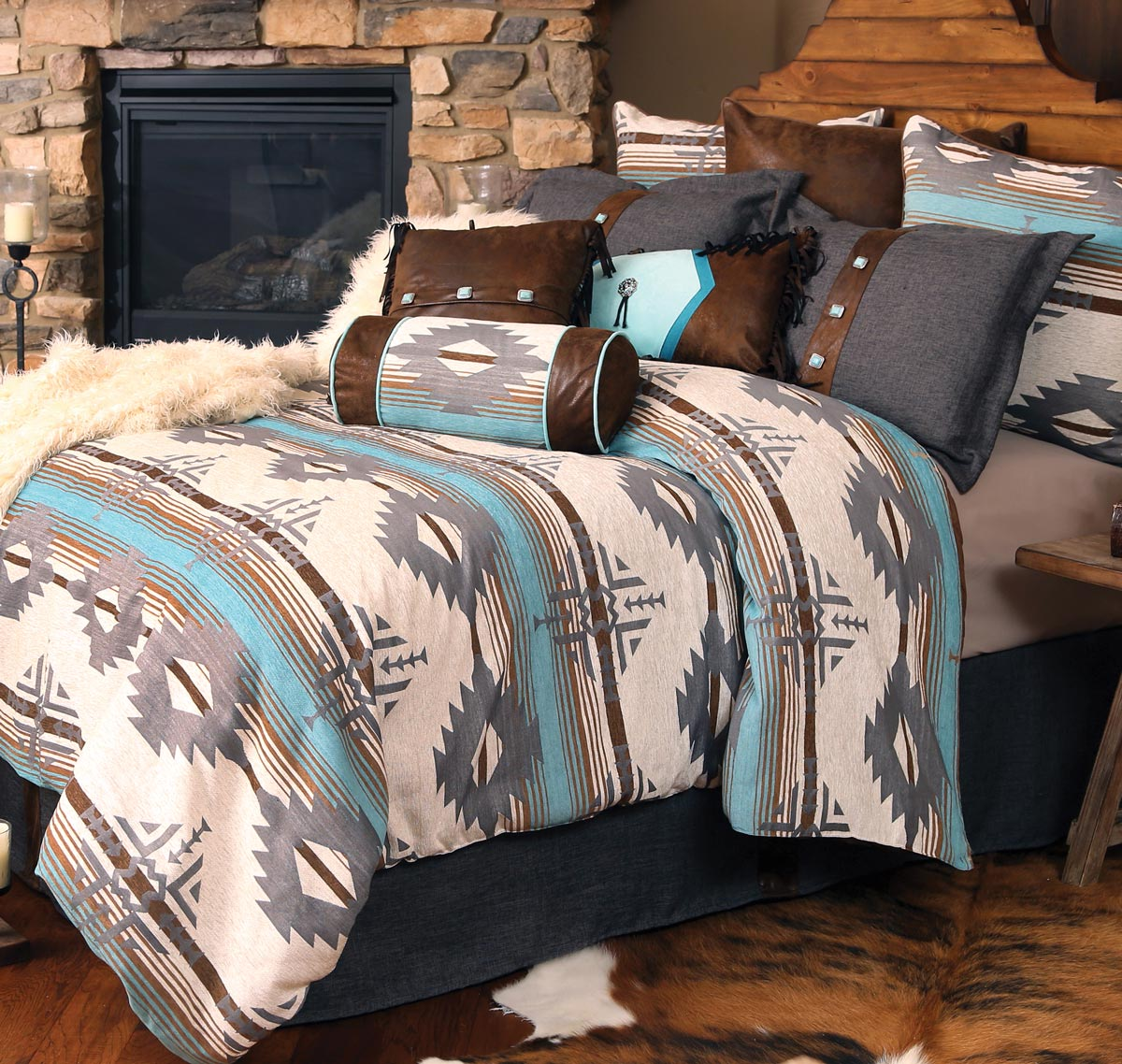 Dakota Sky Bed Set - King