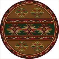 Dakota Star Rug - 8 Ft. Round