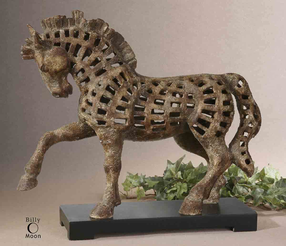 Dancing Horse Sculpture