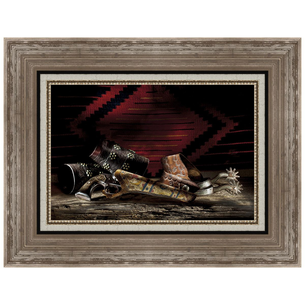 Days Gone By 2 Framed Canvas