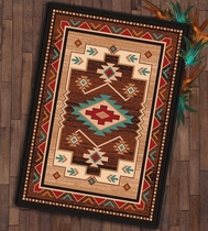 Deep Creek Trails Rug - 4 x 5