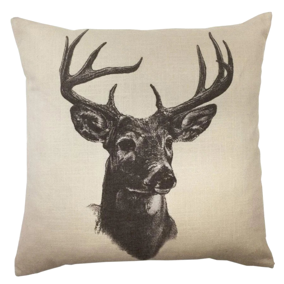 Deer Print Pillow