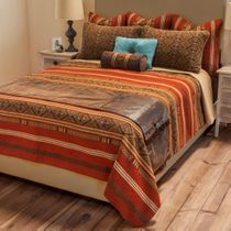 Sonora Reversible Coverlet - Twin Plus