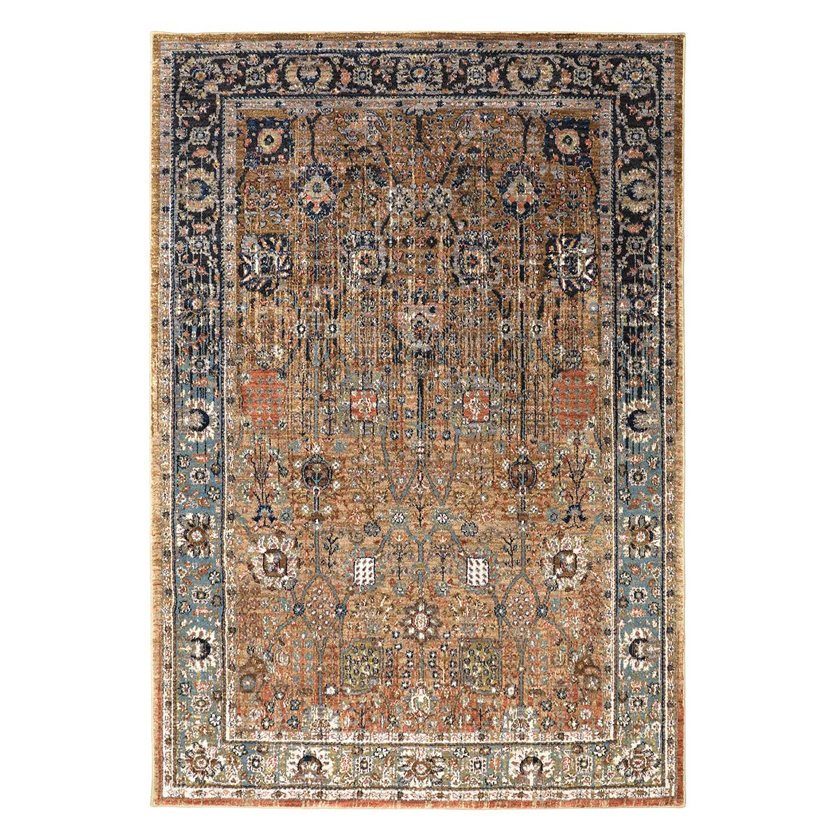 Denver Tobacco Rug - 2 x 3