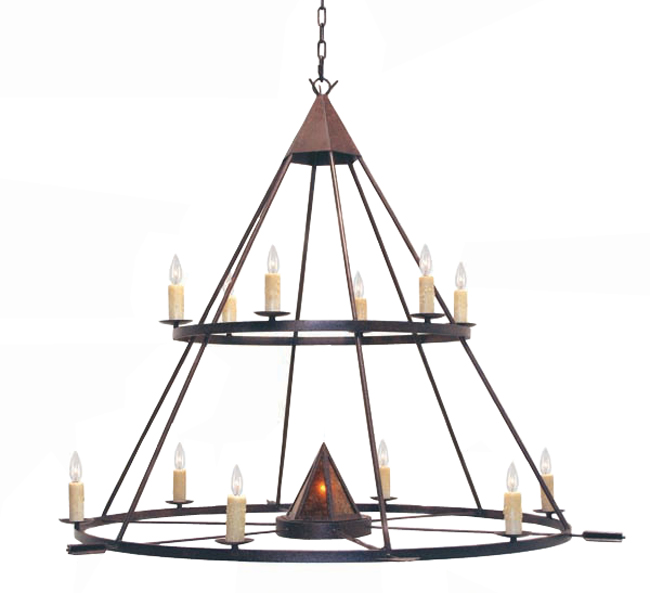 Desert Arrow Two-Tier Chandelier