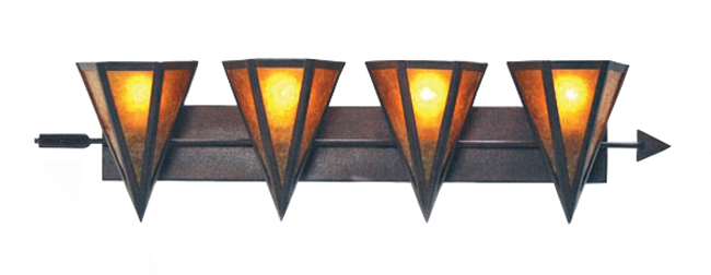 Desert Arrow Vanity Light - 4 Light