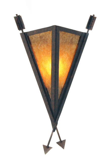 Desert Arrow Wall Sconce - 13 Inch