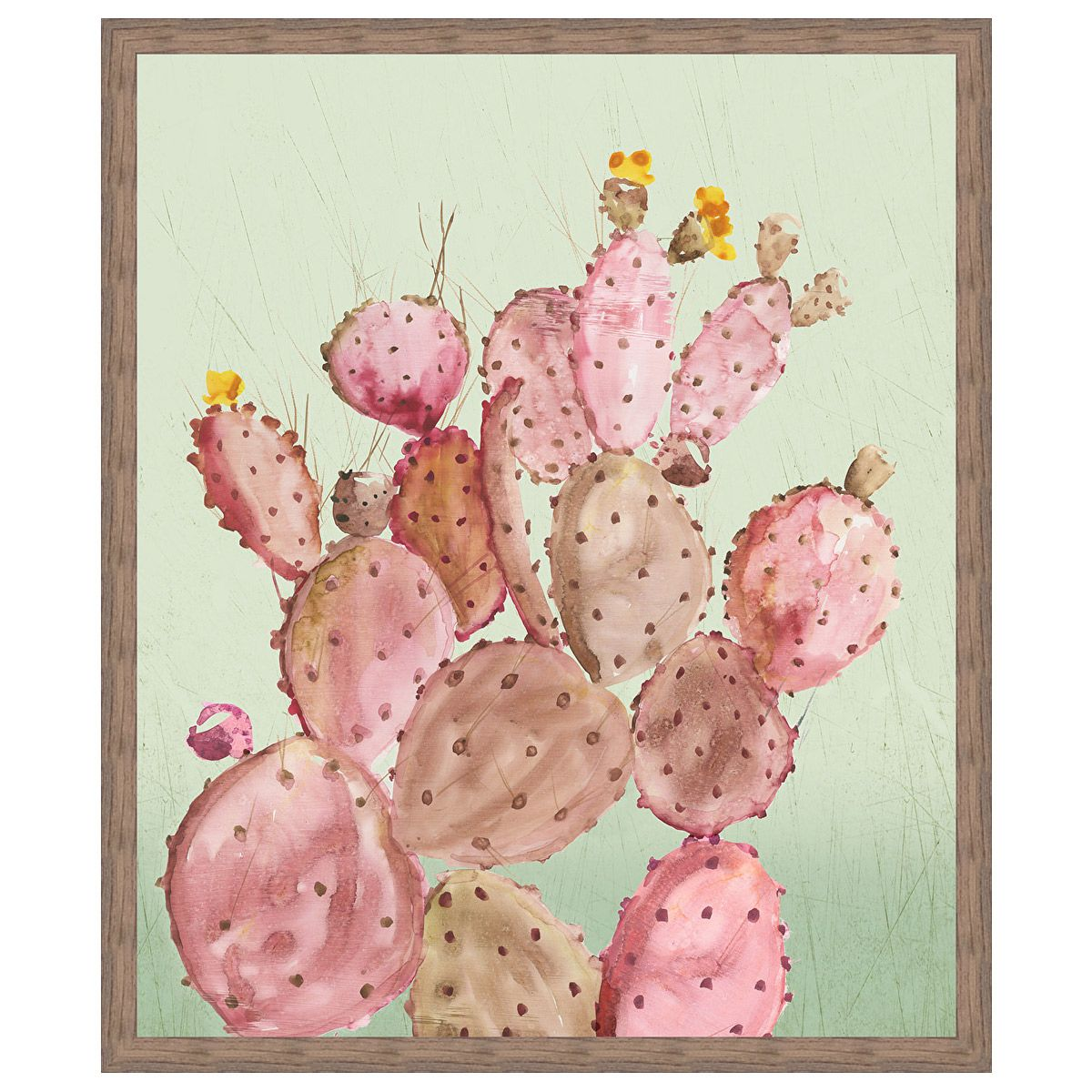Desert Cherry Cactus Wall Art
