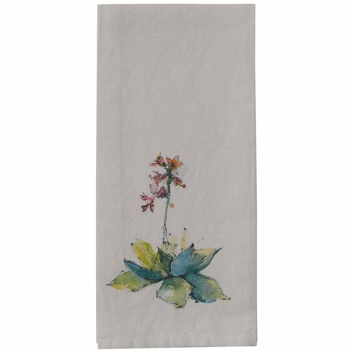Desert Garden Bloom Dishtowels - Set of 6