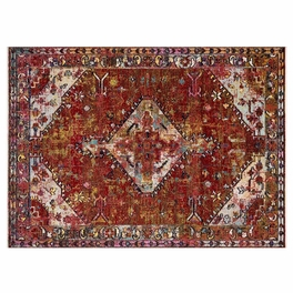 Desert Glow Red Rug Collection