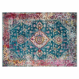 Desert Glow Teal & Berry Rug Collection