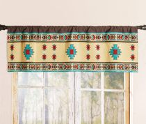 Desert Jewel Lined Valance