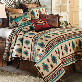 Desert Jewel Woven Bedding Collection