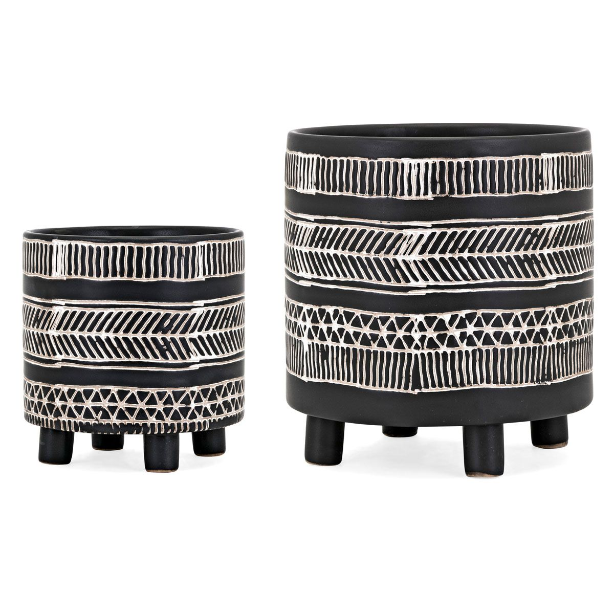Desert Lines Planters - Set of 2
