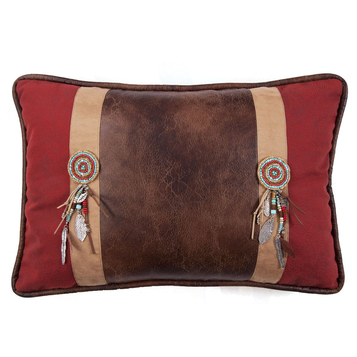 Desert Maze Dreamcatcher Pillow