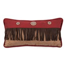 Desert Maze Fringed Pillow