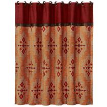 Desert Maze Shower Curtain