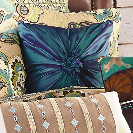 Desert Paisley Accent Pillow