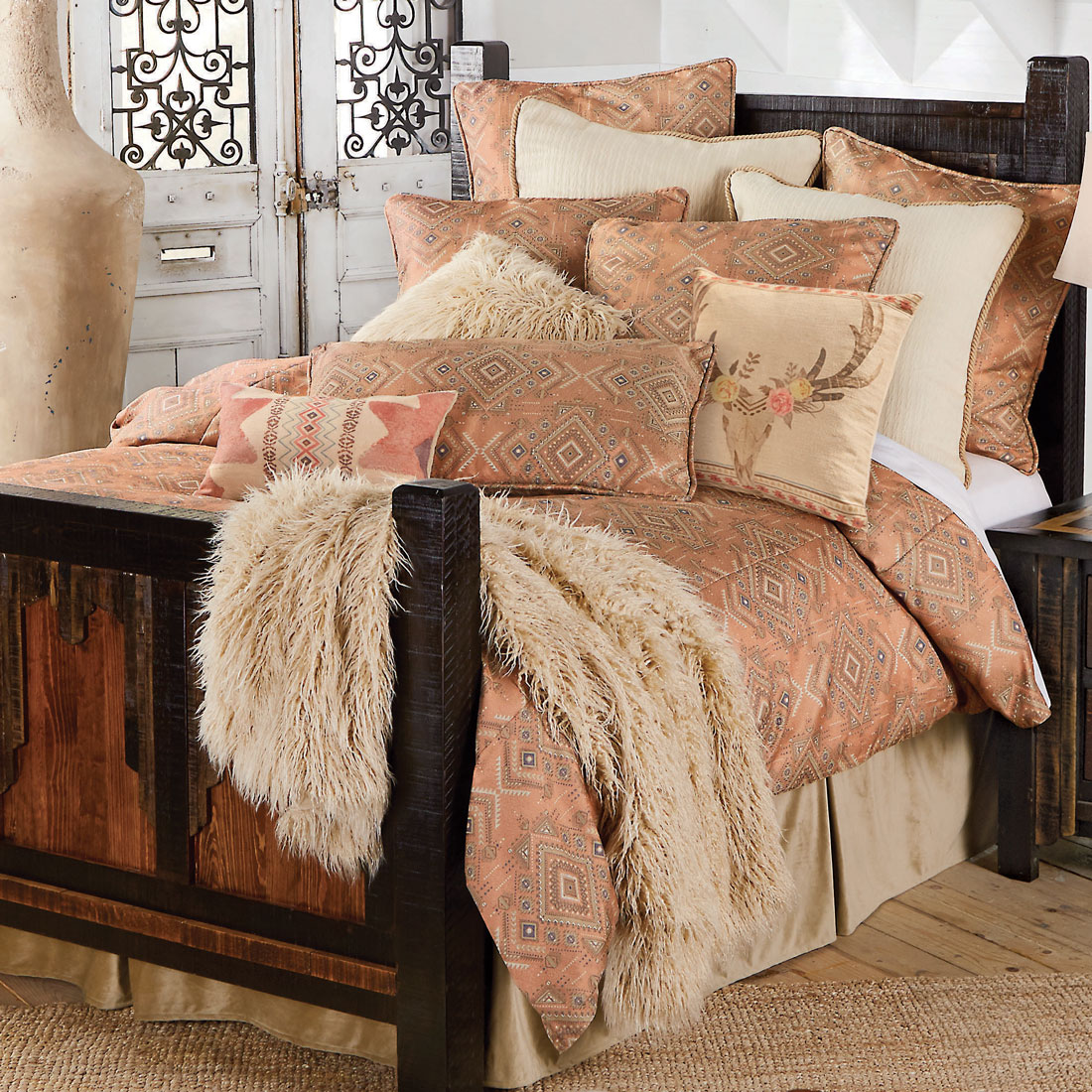 Desert Rose Bed Set - Full