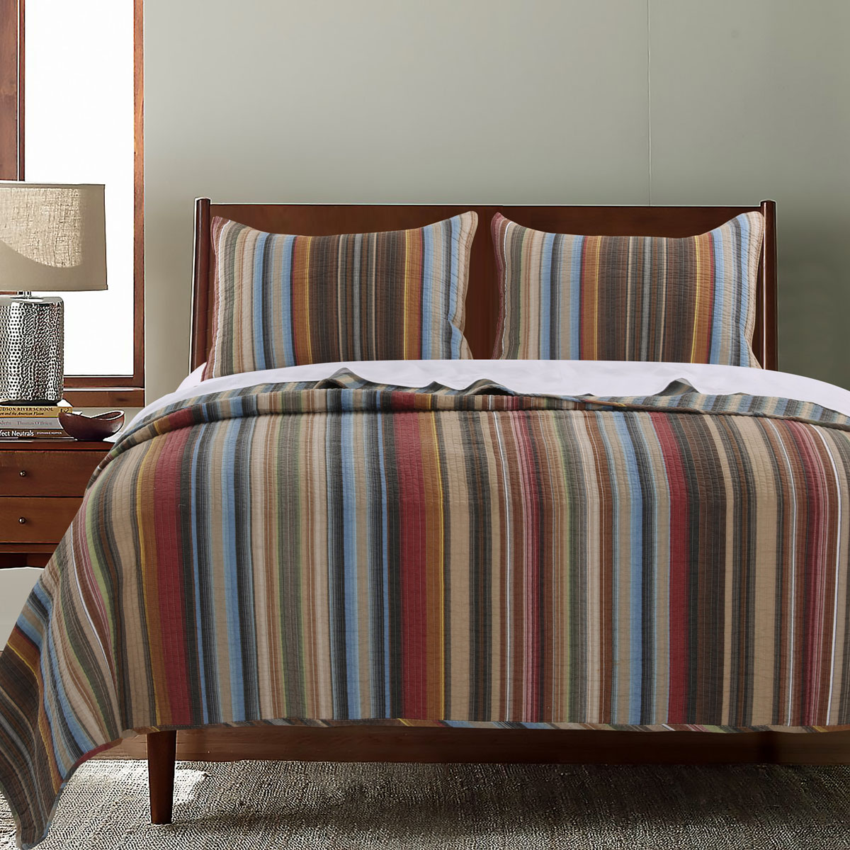 Desert Strata 2pc Quilt Set - Twin