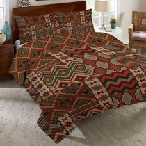 Desert Summer Quilt Bed Set - Twin