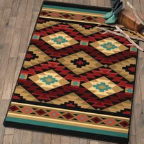 Desert Valley Southwestern Rug - 8 Ft. Round