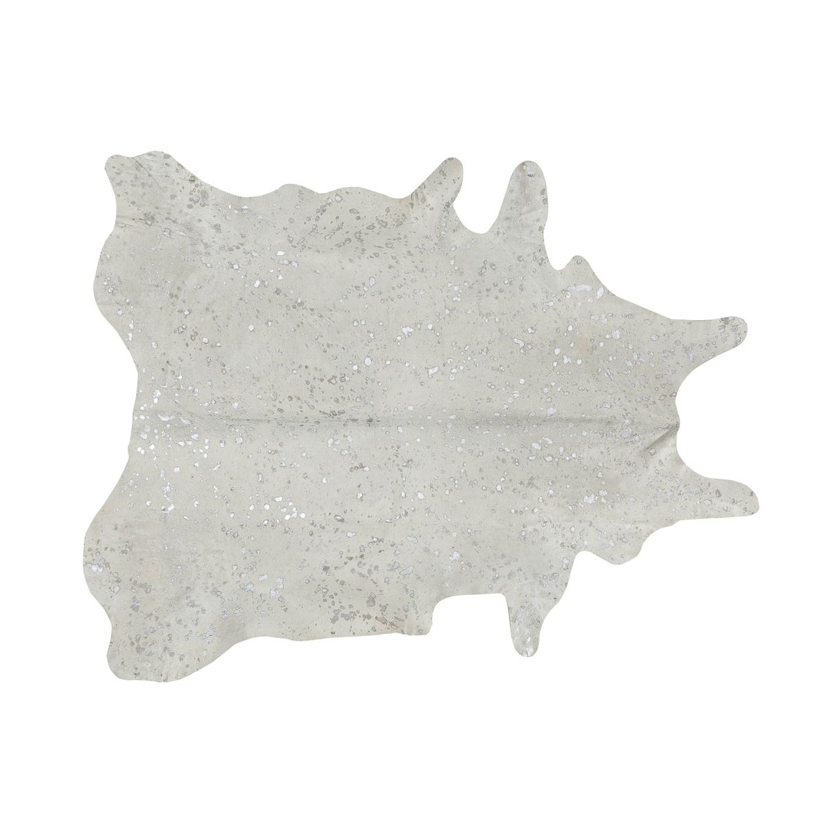 Southwest Rugs Devore Metallic White