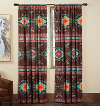 Diamond Arrow Drapes