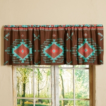Diamond Arrow Valance