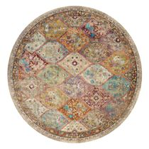 Diamond Boho Rug - 7 Ft. Round