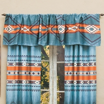 Diamond Canyon Lined Valance