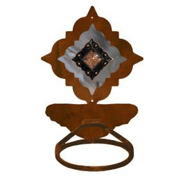 Diamond Copper Berry Towel Ring