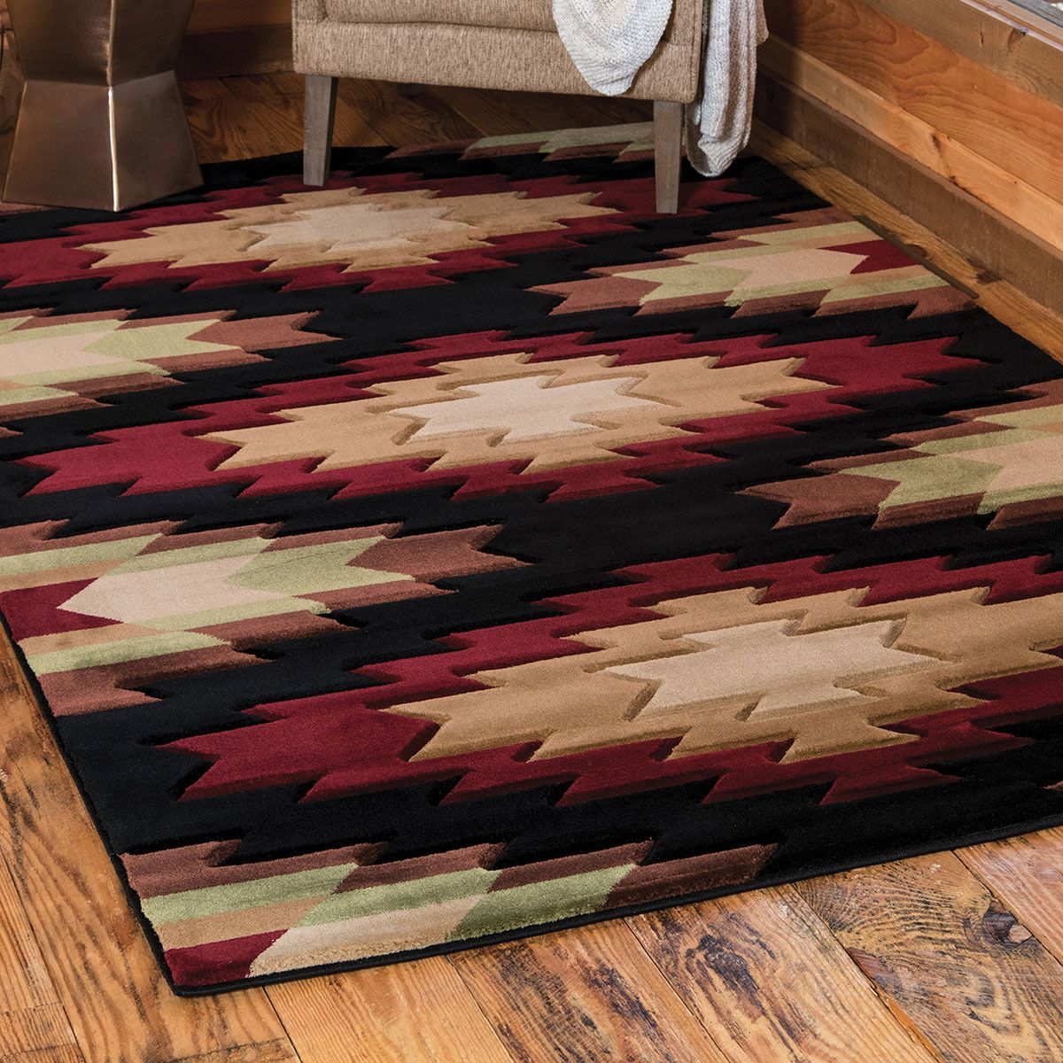 Diamond Earth Rug - 2 x 3