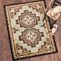 Diamond Mirage Blue Rug - 5 x 8