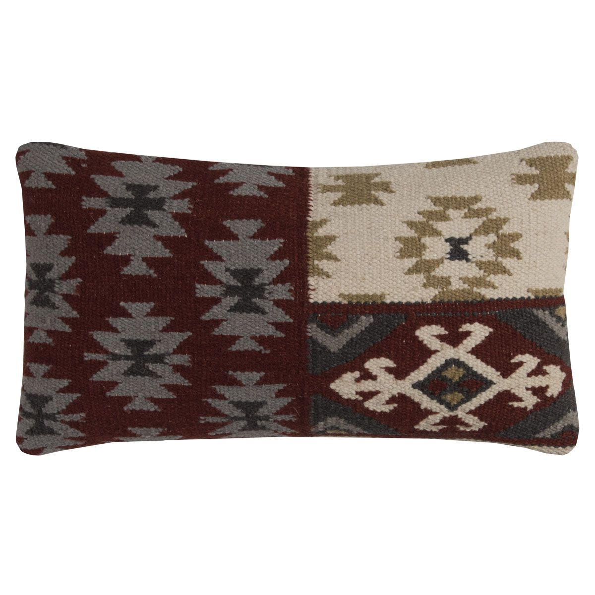 Diamond Patchwork Pillow