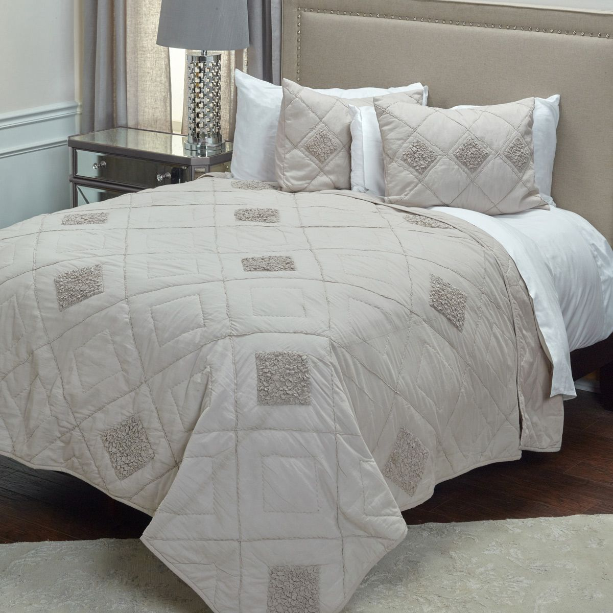 Diamond Rio Quilt King Sham