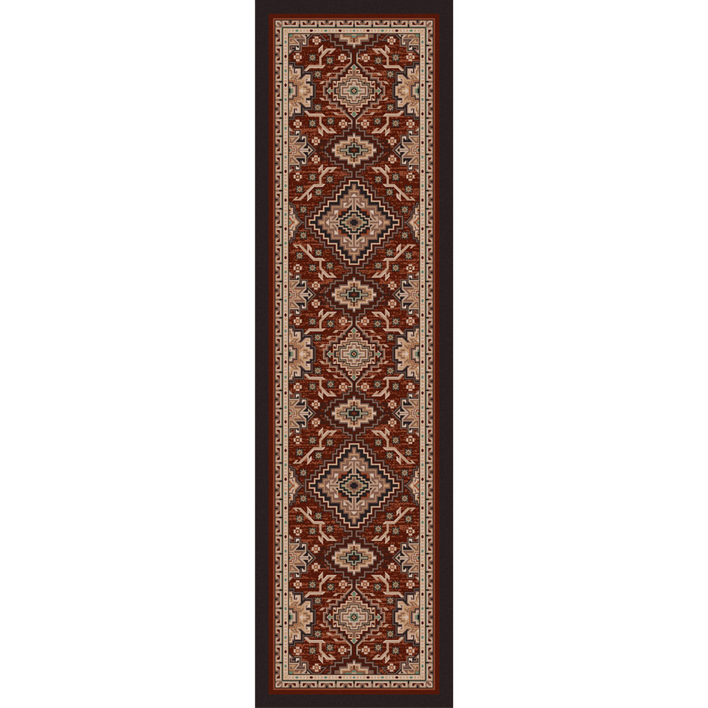 Diamond Trails Rug - 2 x 8