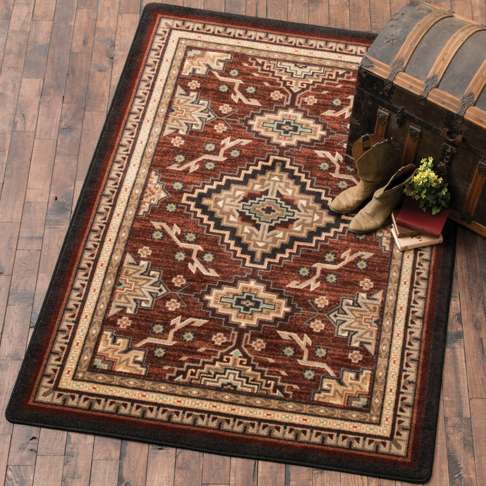Diamond Trails Rug - 5 x 8