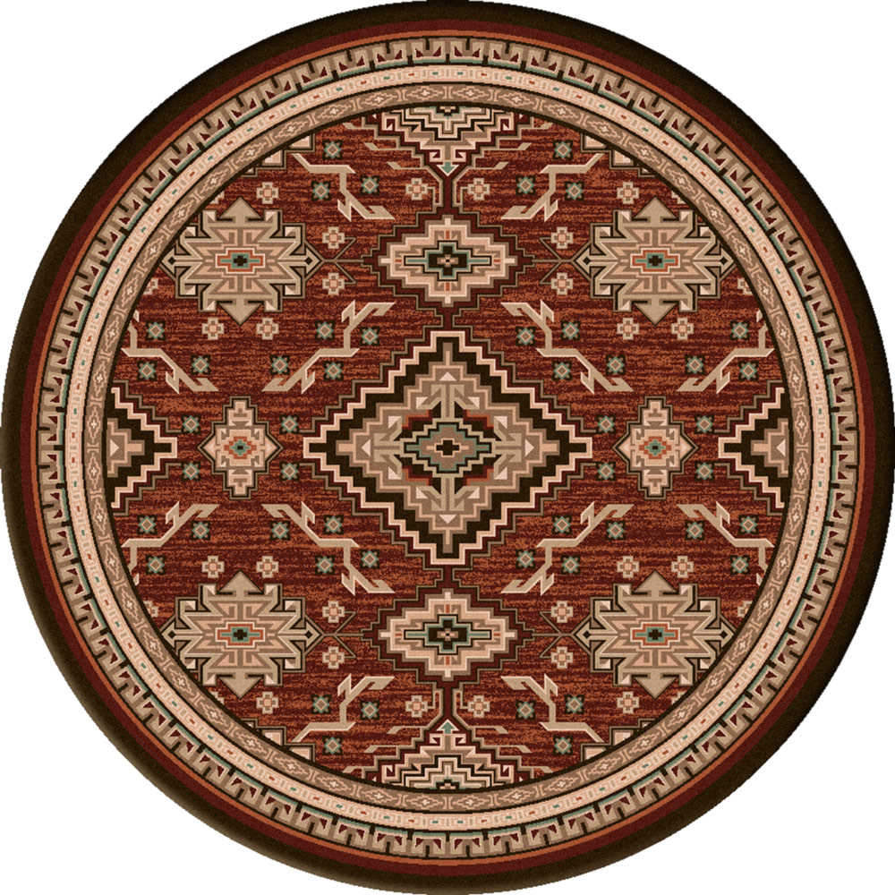 Diamond Trails Rug - 8 Ft. Round