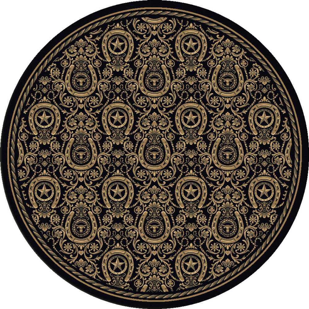 Dodge City Rug - 8 Ft. Round
