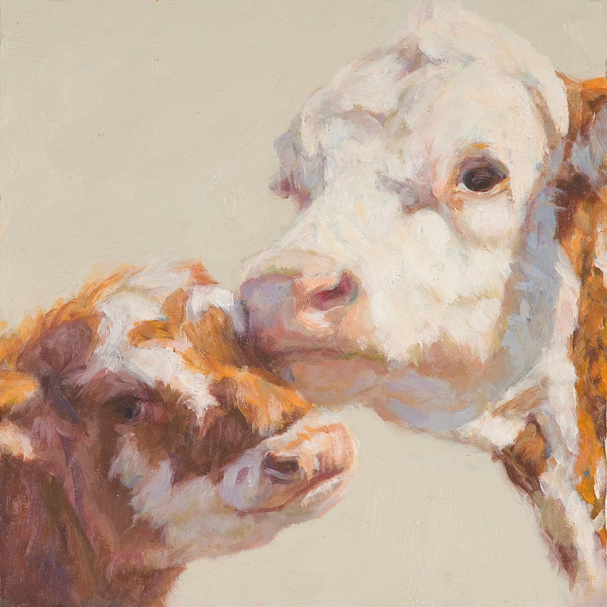 Dorothy's Calf Canvas Art