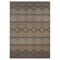 Dotted Diamond Rug - 5 x 8