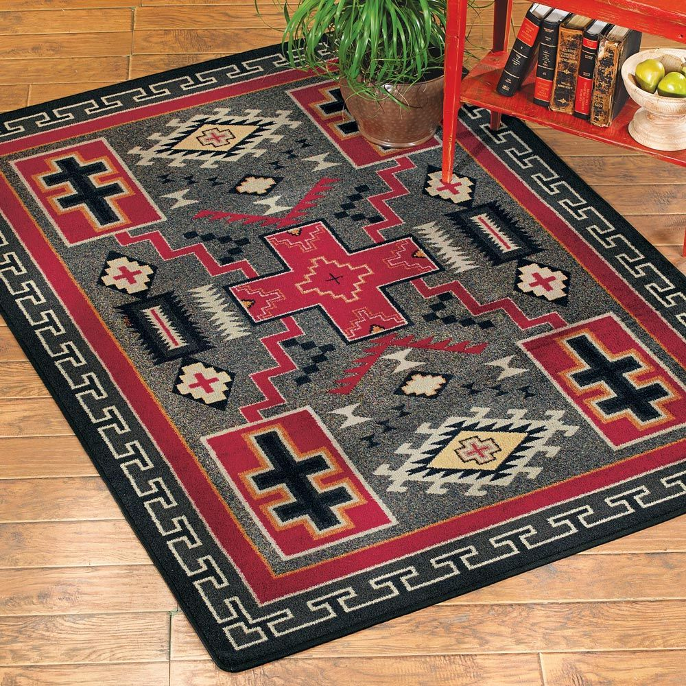 Double Cross Rug - 4 x 5
