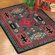 Double Cross Rug - 5 x 8