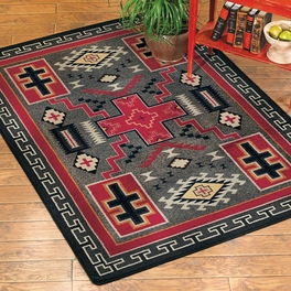Double Cross Rug Collection