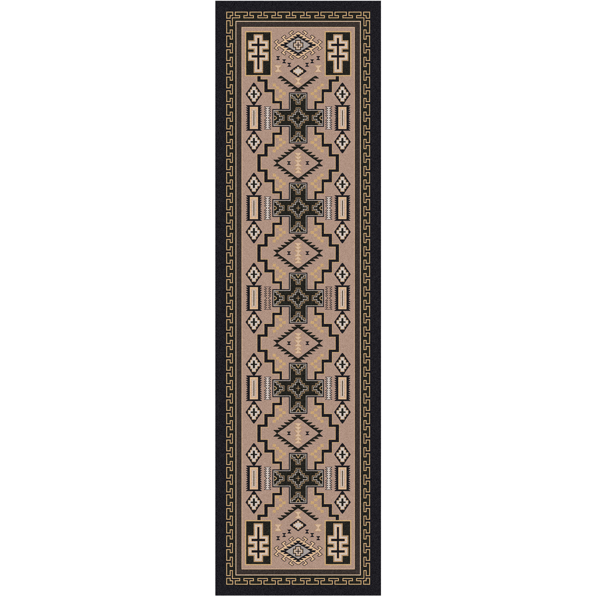 Double Cross Sandman Rug - 2 x 8